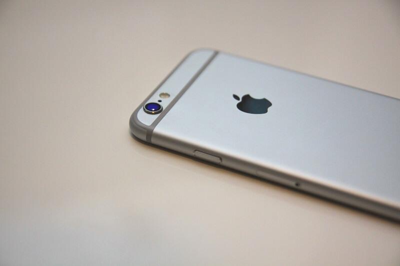 Apple iPhone backside look