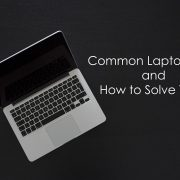 What are common laptop errors and how to solve them