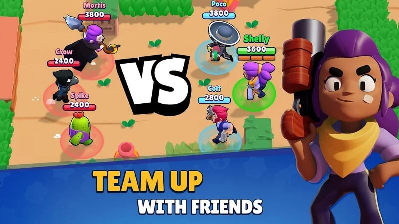 Brawl Stars - A Multiplayer Battle Game