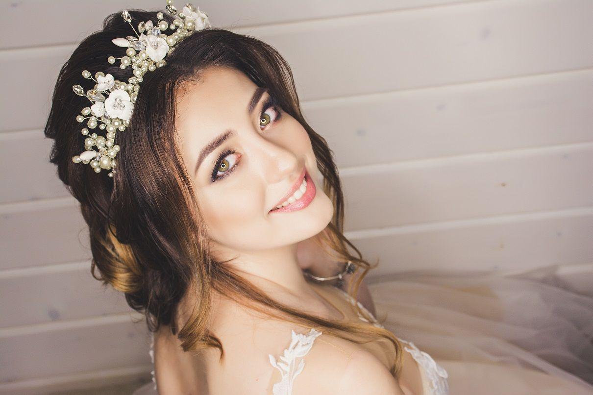 Bride's Makeup on her Wedding