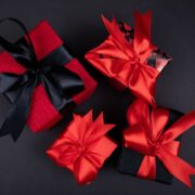 4 different beautiful gift box packages